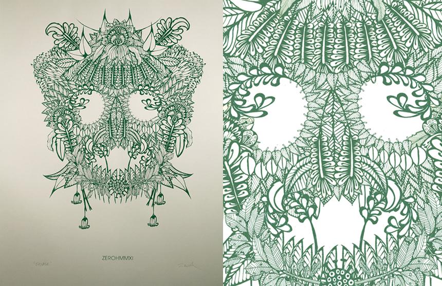 zeroh_foliage print